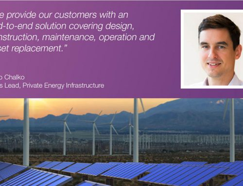 Interview with Private Energy Infrastructure Sales Lead Philip Chalko